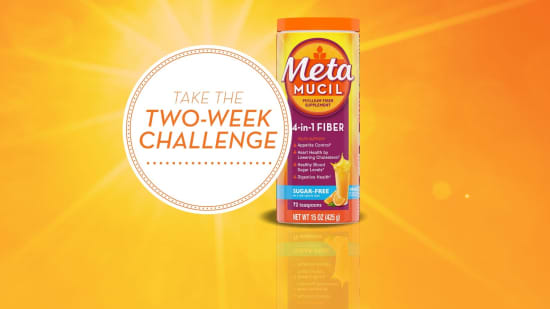 Metamucil 2 week challenge