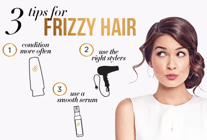 3 Tips for Frizzy Hair