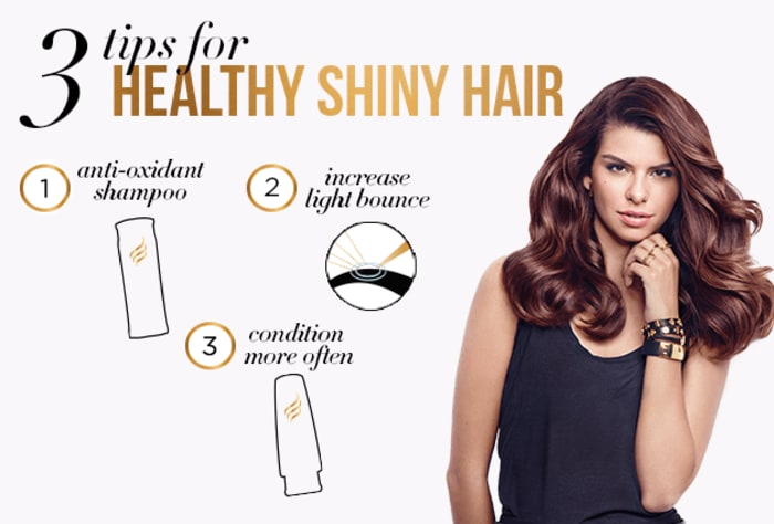 3 Tips for Healthy Shiny Hair