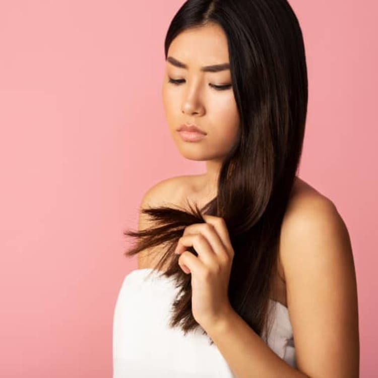 6 ways to deal with split ends 2x