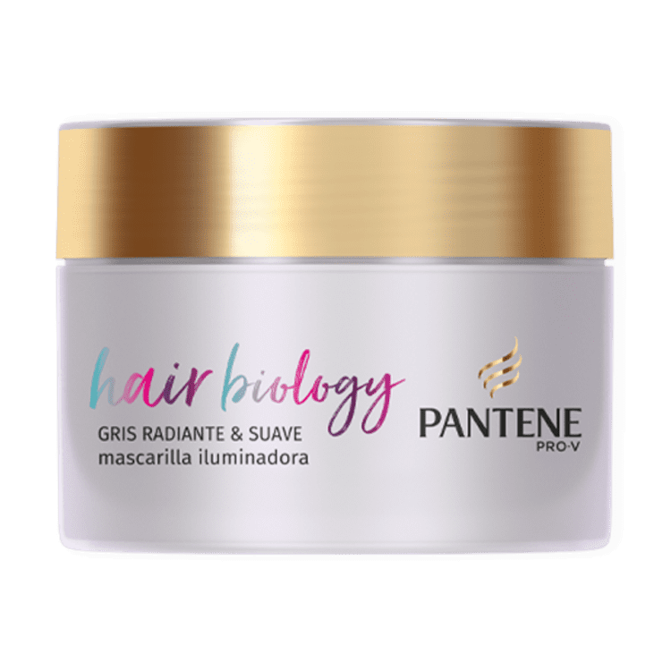 Mascarilla Gris radiante y Suave Hair Biology