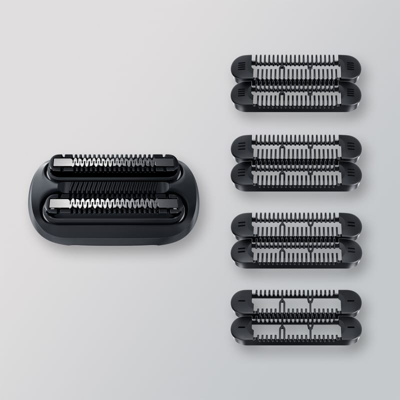 Braun Stubble Beard Trimmer Head +4 combs