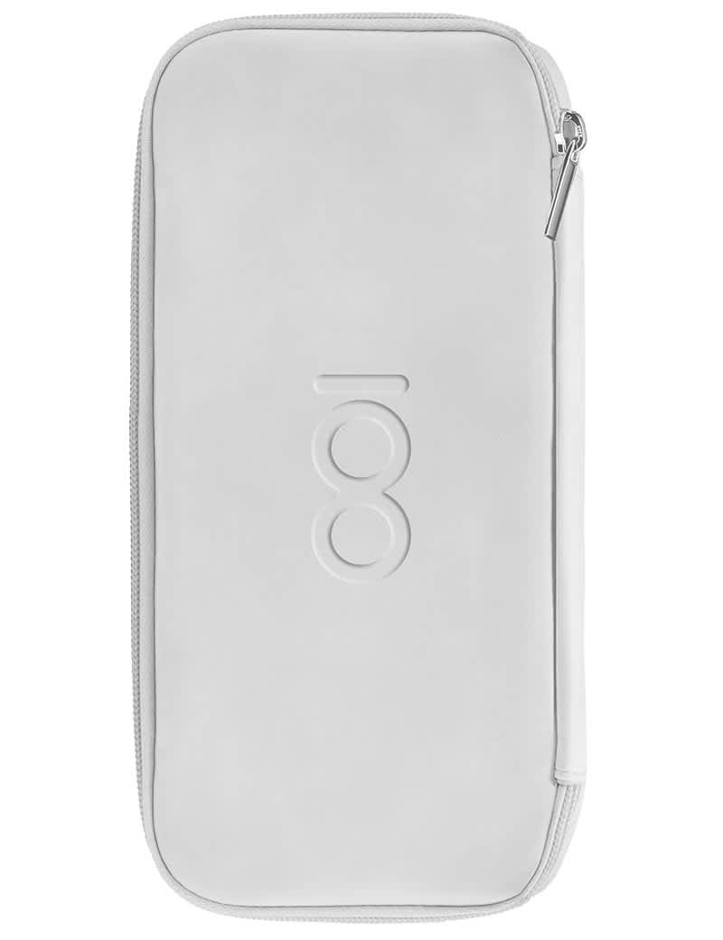 Limited Edition White Travel Pouch