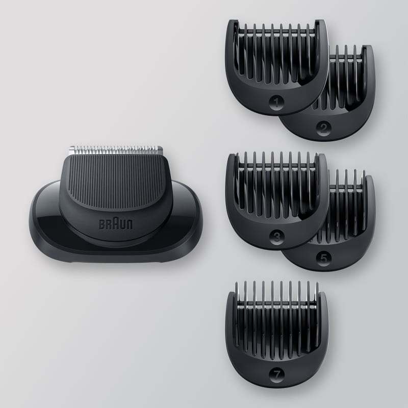 Braun Beard Trimmer Head +5 combs