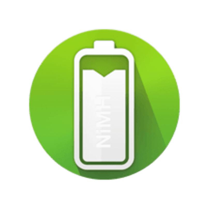Rechargeable Ni-MH battery.