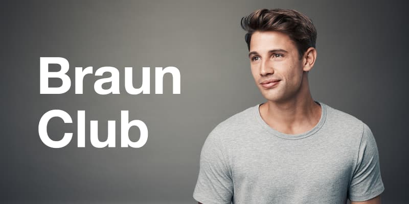 Join Braun Club to get useful tips & tricks about Braun products.