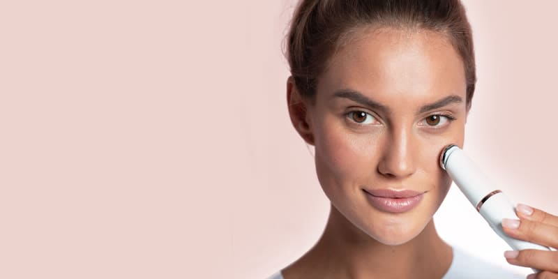 Tapping for facial beauty