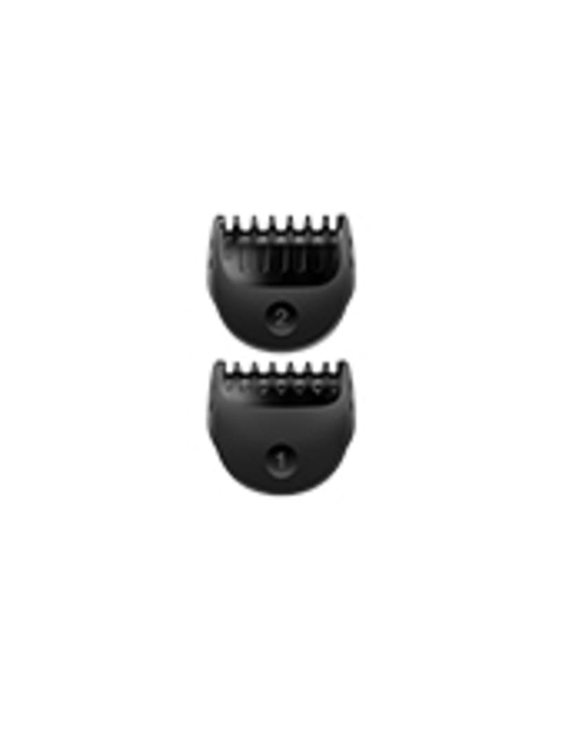 Fixed combs with 1 mm & 2 mm for Braun All-in-one trimmer