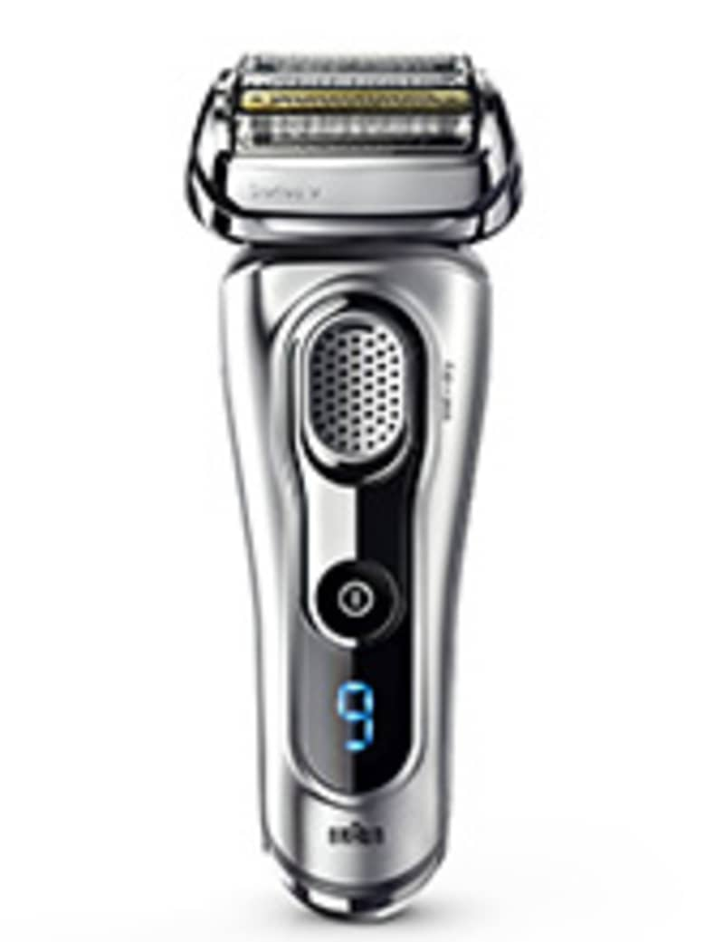 Braun Series 9 silver electric shaver