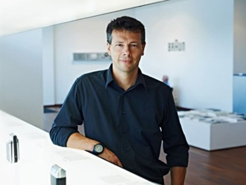 Braun Director of Grooming Industrial Design, Prof. Oliver Grabes.