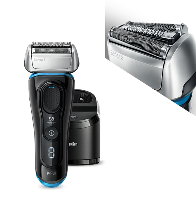 Braun Series 8 shavers