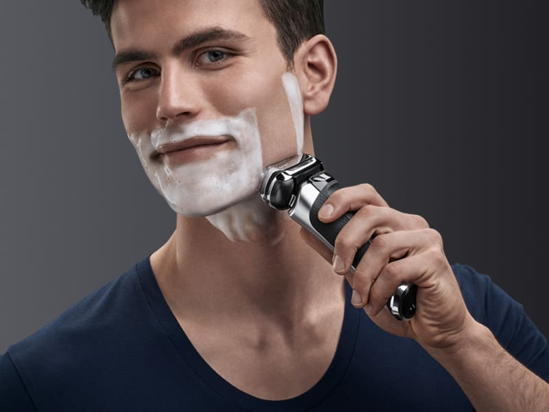 Experience a shave that is both efficient and gentle