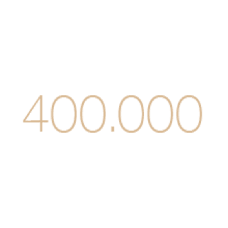 400,000 flashes
