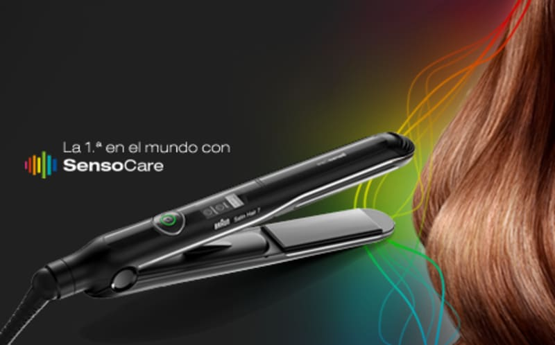 Satin Hair 7 SensoCare straightener