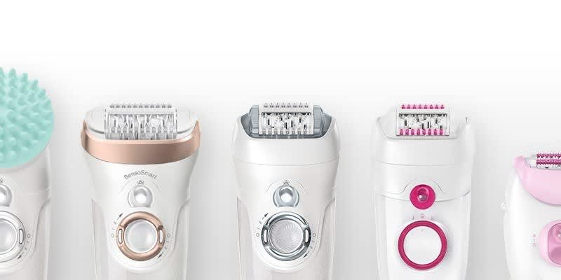 Braun epilators