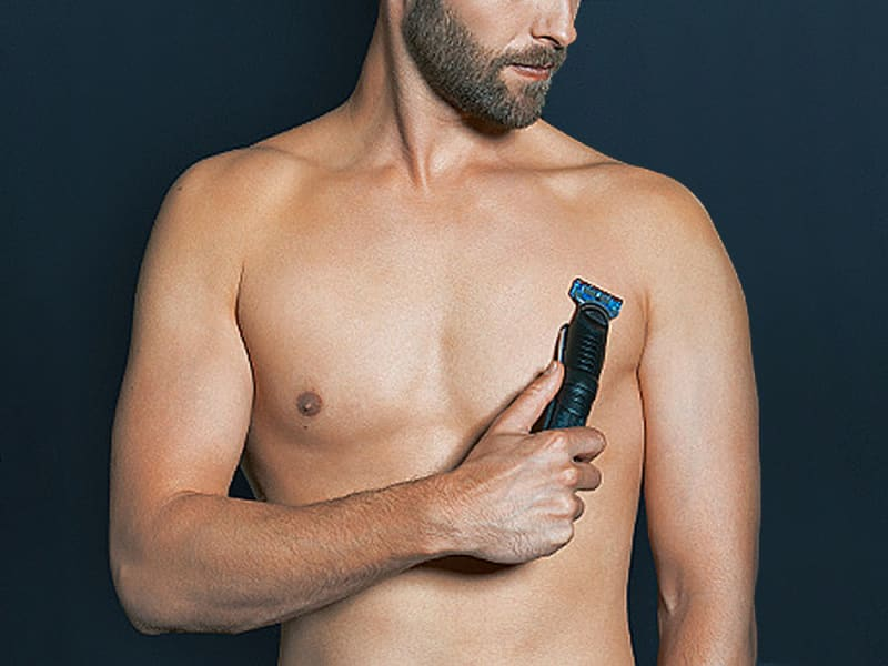Braun body groomer with Gillette Fusion blades