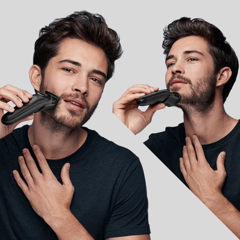 Beard trimming with precision