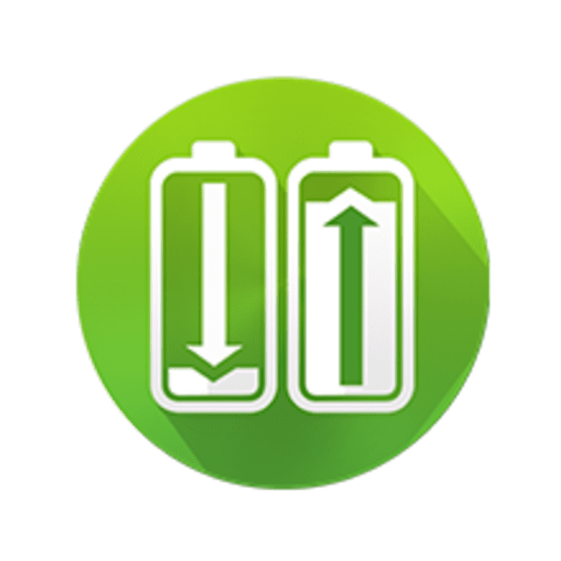 2x powerful rechargeable Ni-MH batteries