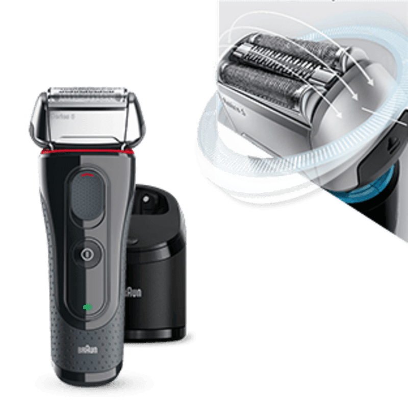 Electric Shavers For Men Braun Ca