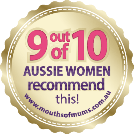 Badge for number 1 feminine protection company