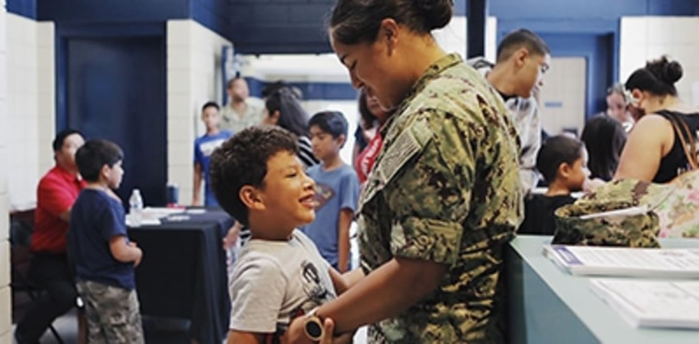 Join us in working with Operation Homefront to help military families