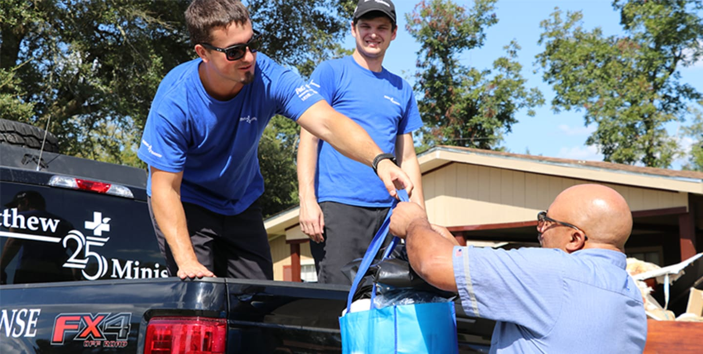 P&G + Matthew 25: Ministries to distribute supplies during this crisis