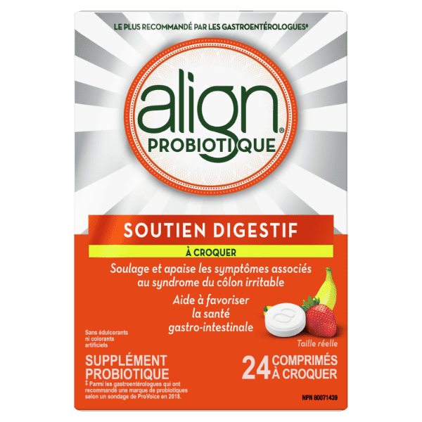 Align Probiotic Chewables-french