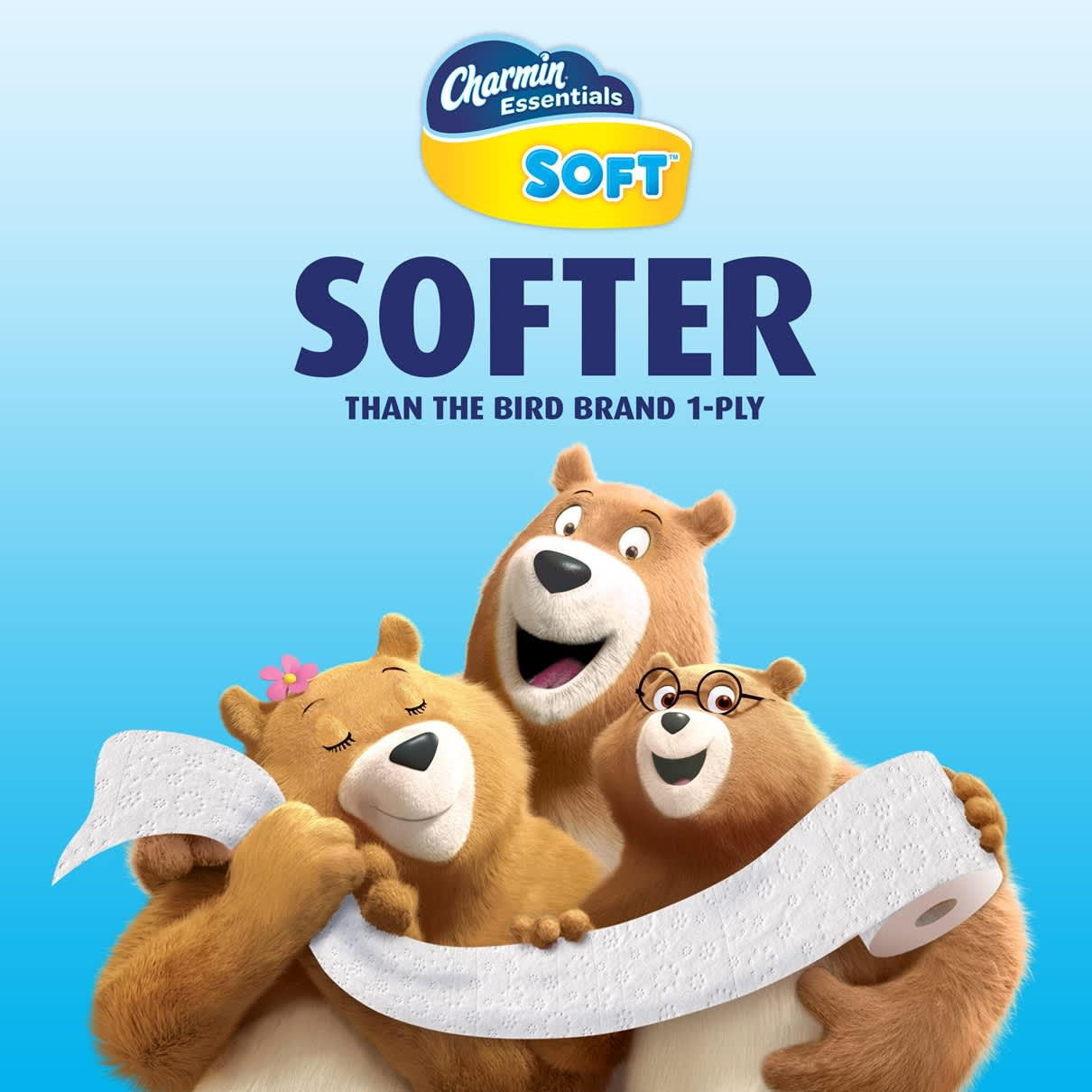 Softer essential toilet paper