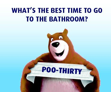 What is the best time to go to the bathroom?