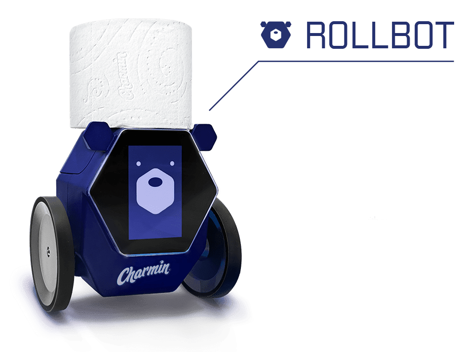 Rollbot delivers fresh roll to you in need