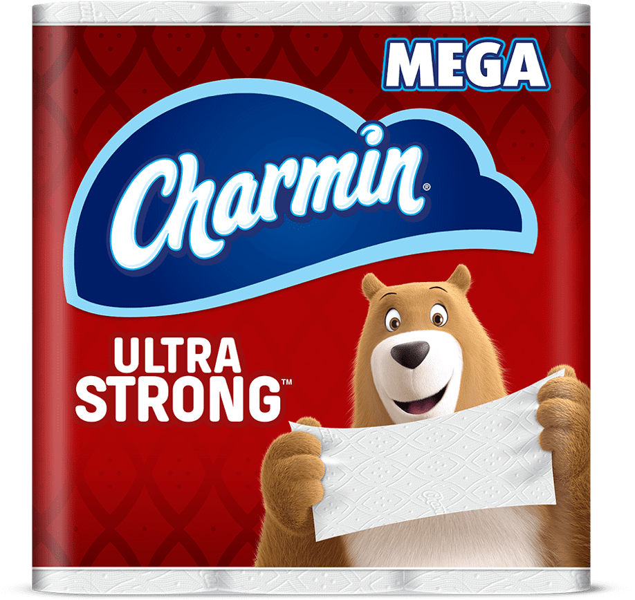 Ultra strong toilet paper mega roll