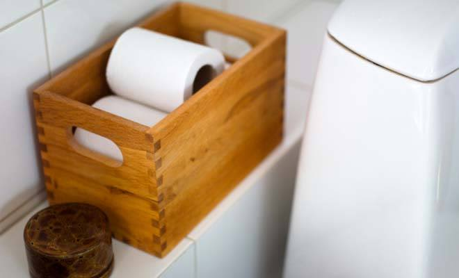 Small Bathroom design ideas for toilet paper roll