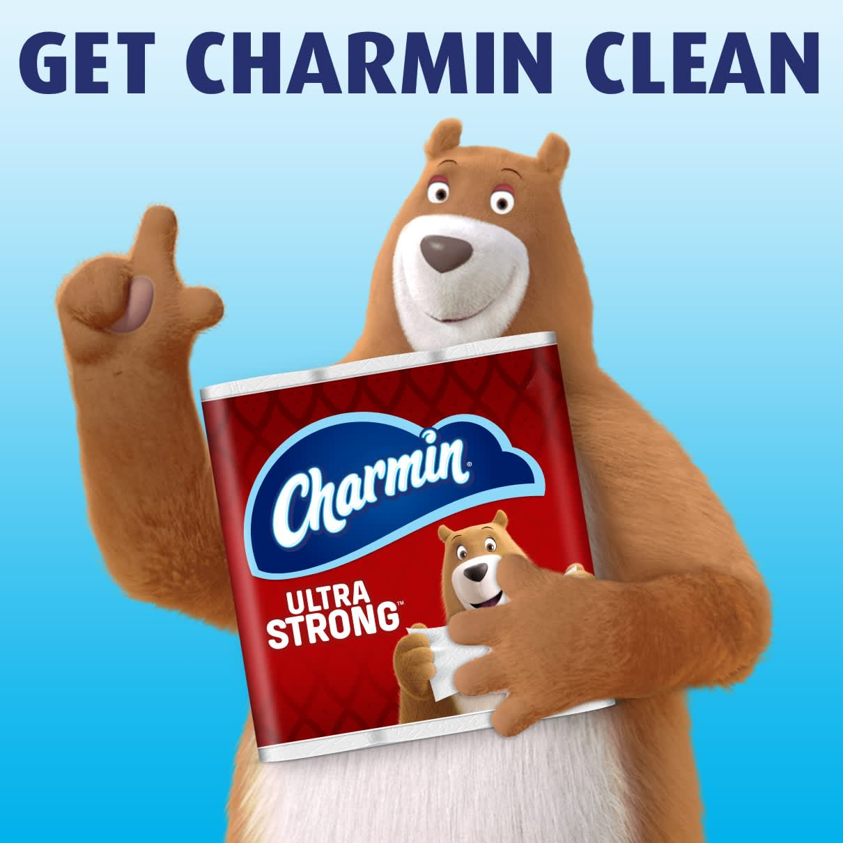 Clean better with ultra strong toilet paper