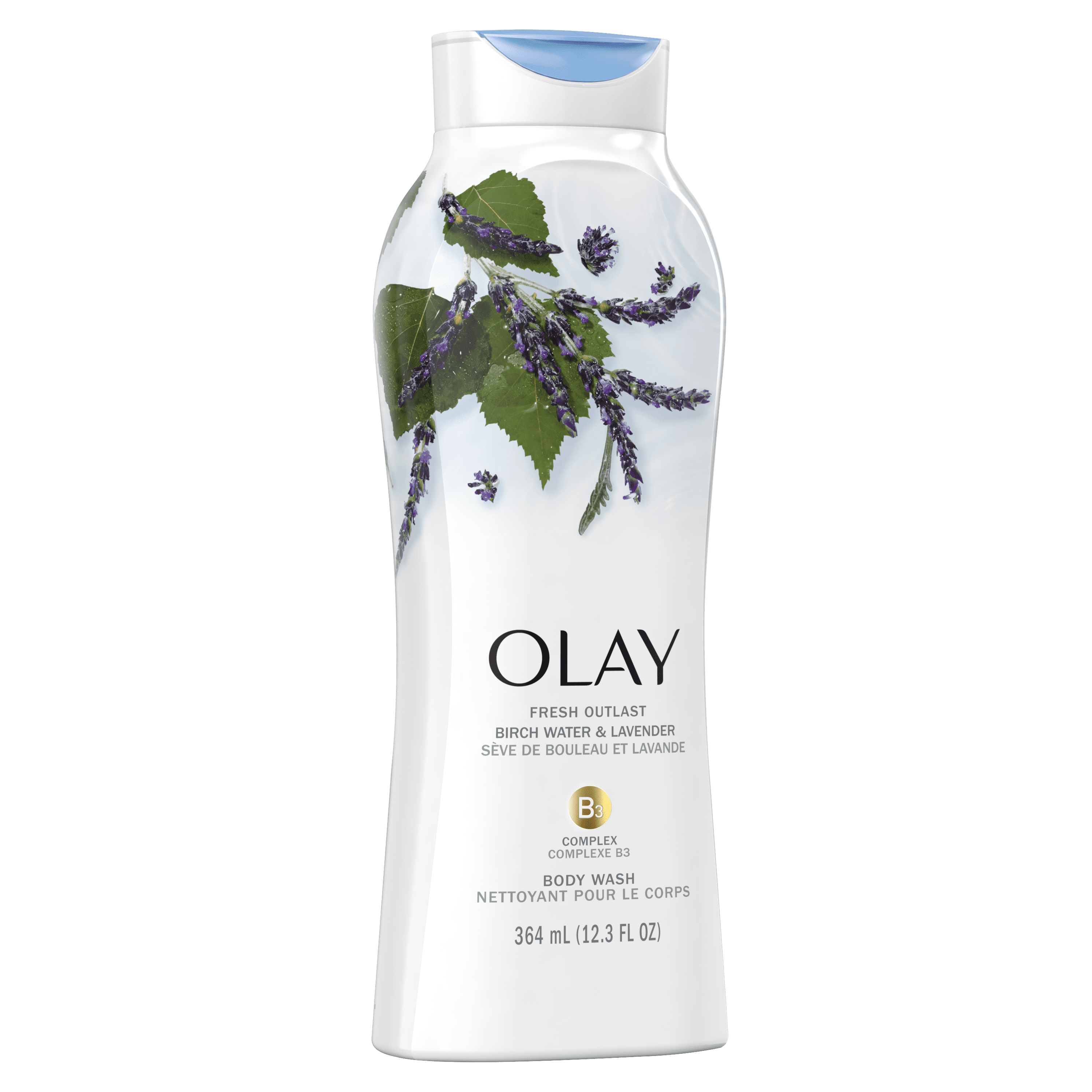 Birch Water and Lavender Fresh Outlast Body Wash_2