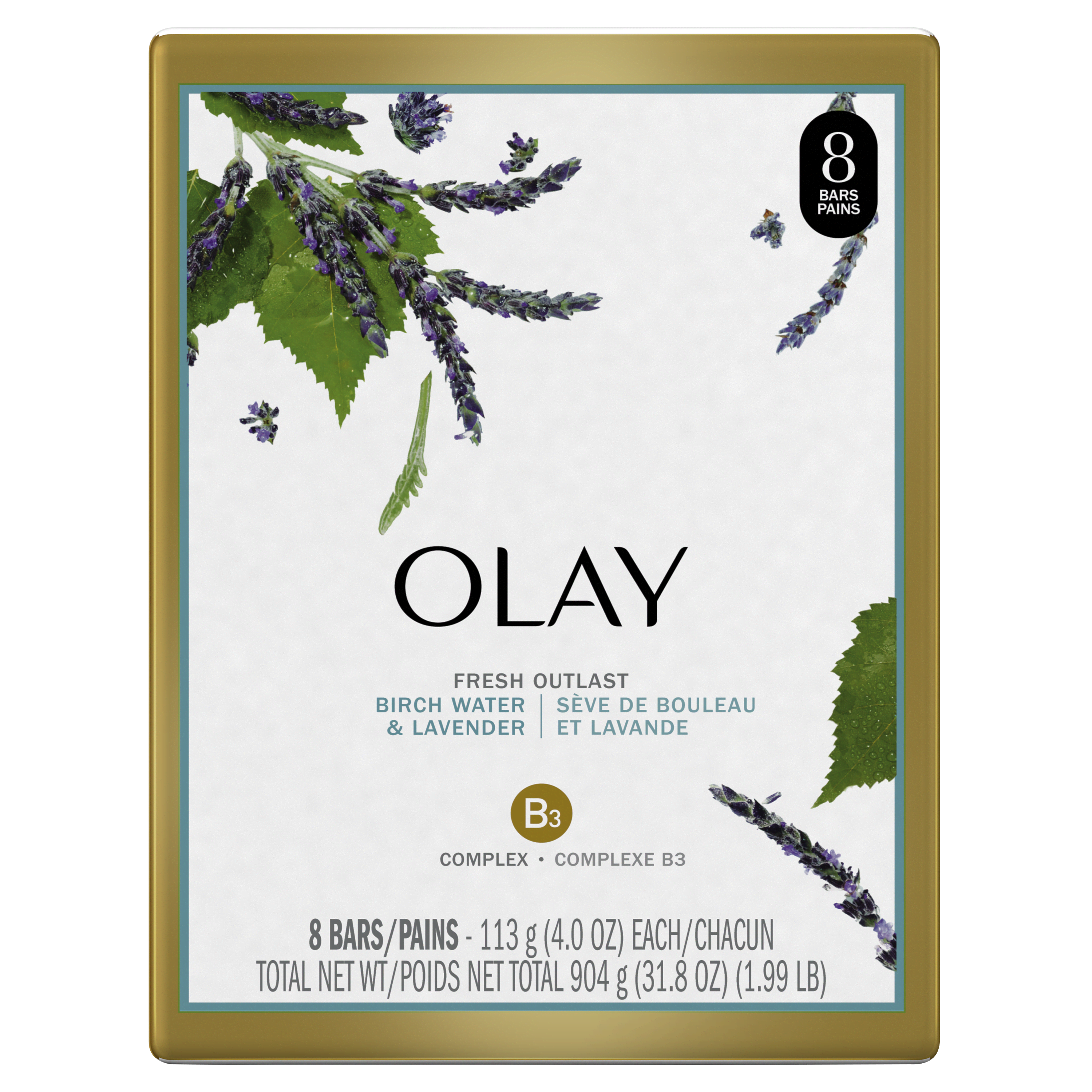 Purifying Birch Water and Lavender Fresh Outlast Beauty Bar