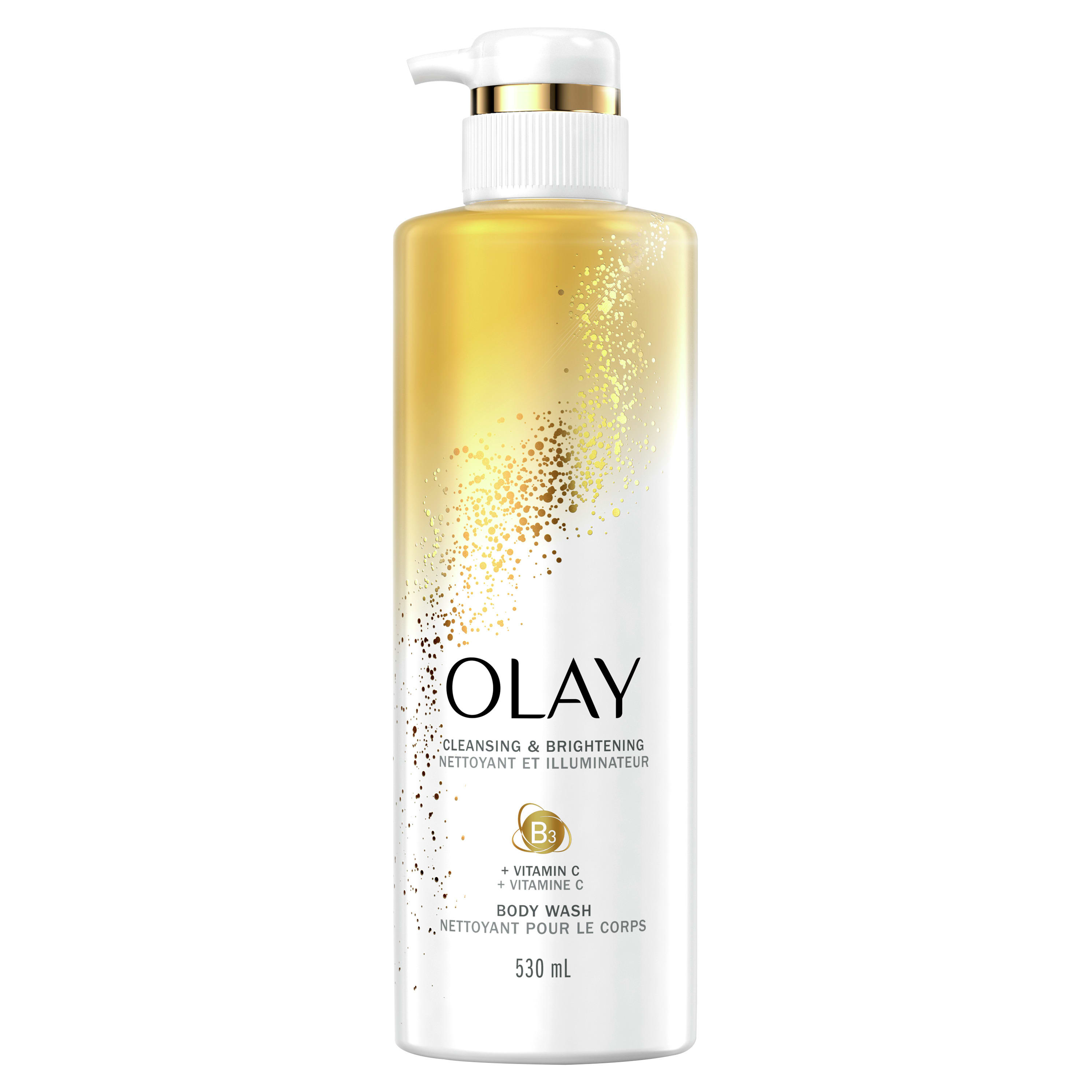 Olay Cleansing & Brightening Body Wash with Vitamin C and Vitamin B3