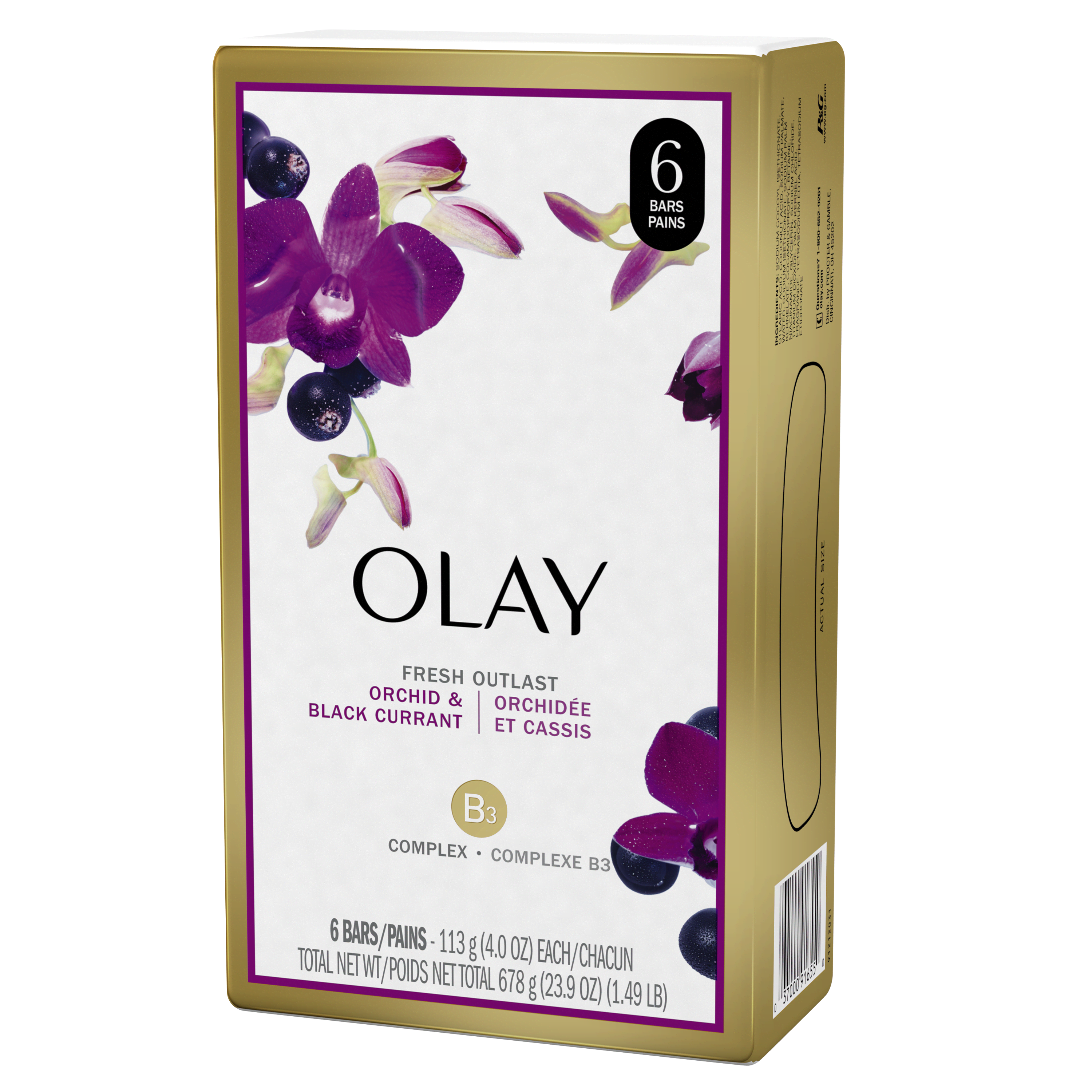 Fresh Outlast Soothing Orchid and Black Currant Beauty Bar_2