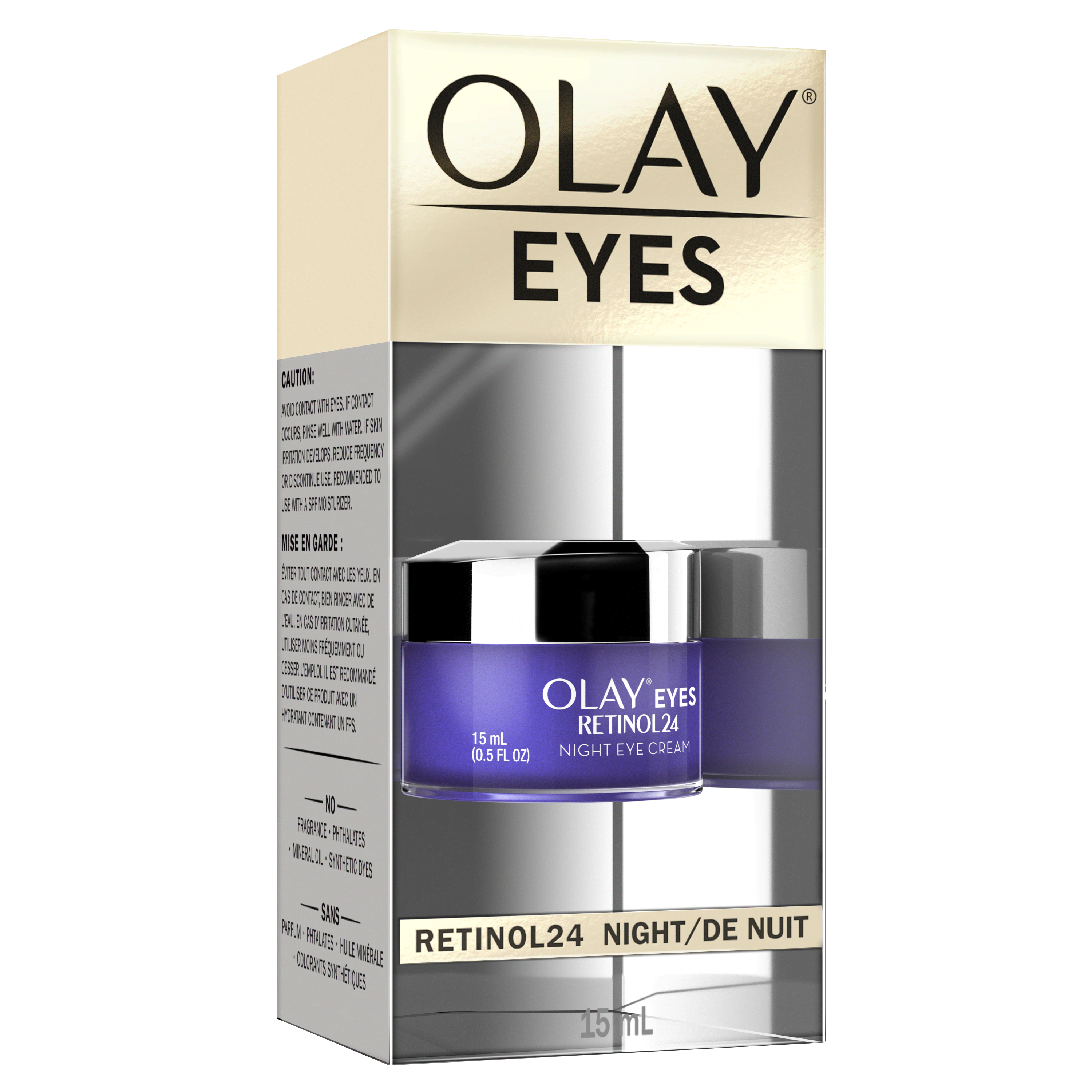 Olay Eyes Retinol24 Night Eye Cream 15 mL_1
