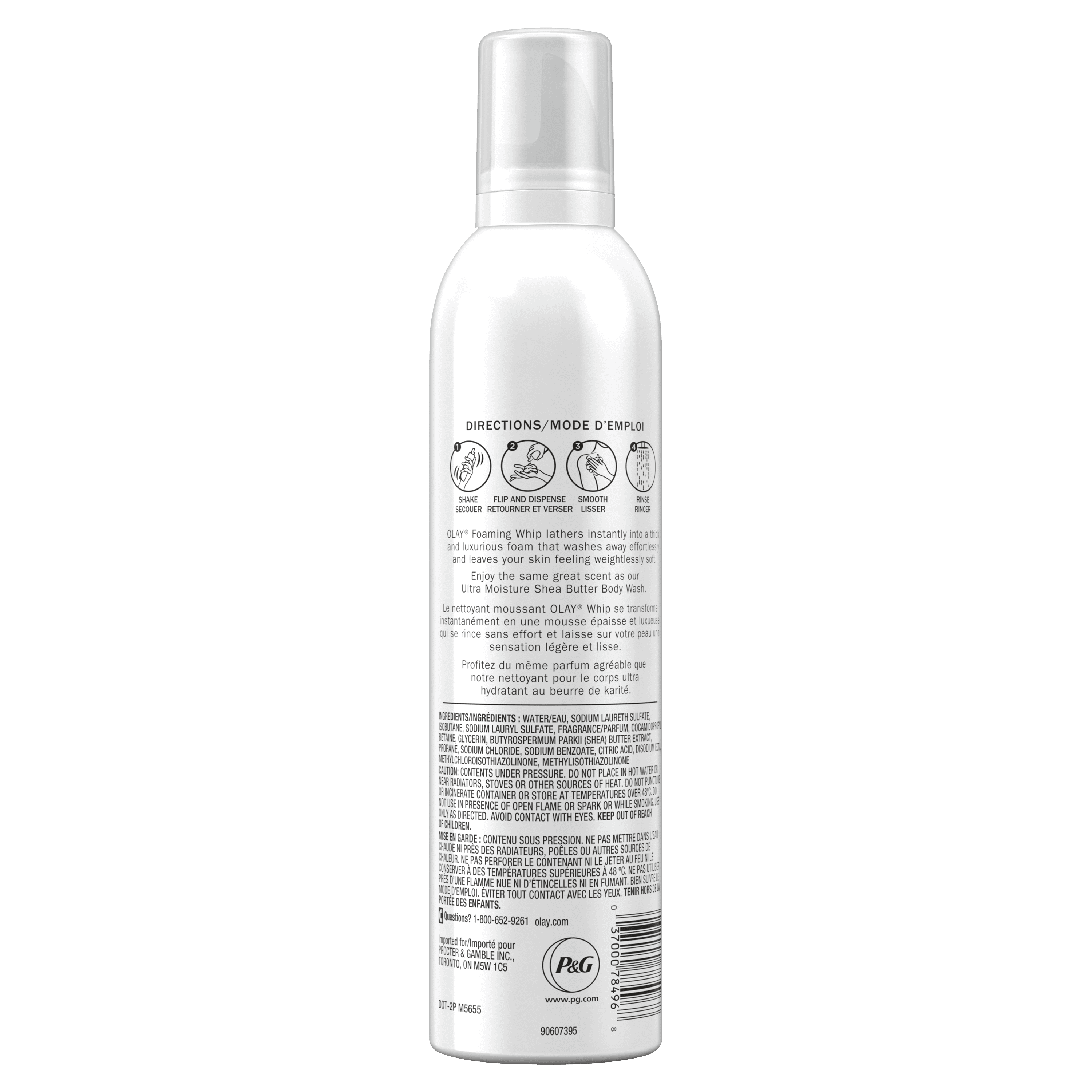 Shea Butter Scent Foaming Whip Body Wash_3