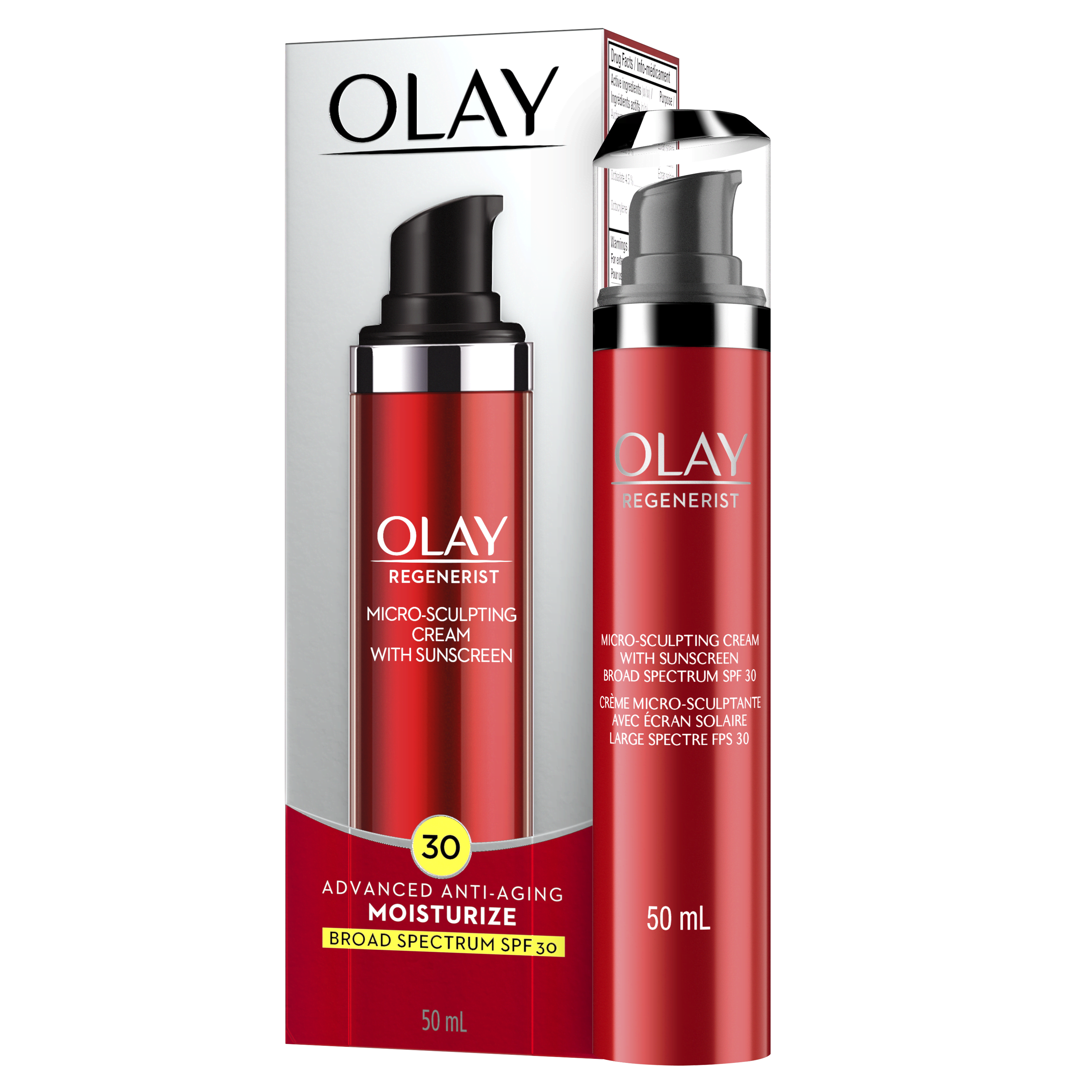 Olay Regenerist Micro Sculpting Cream with Sunscreen Broad Spectr...