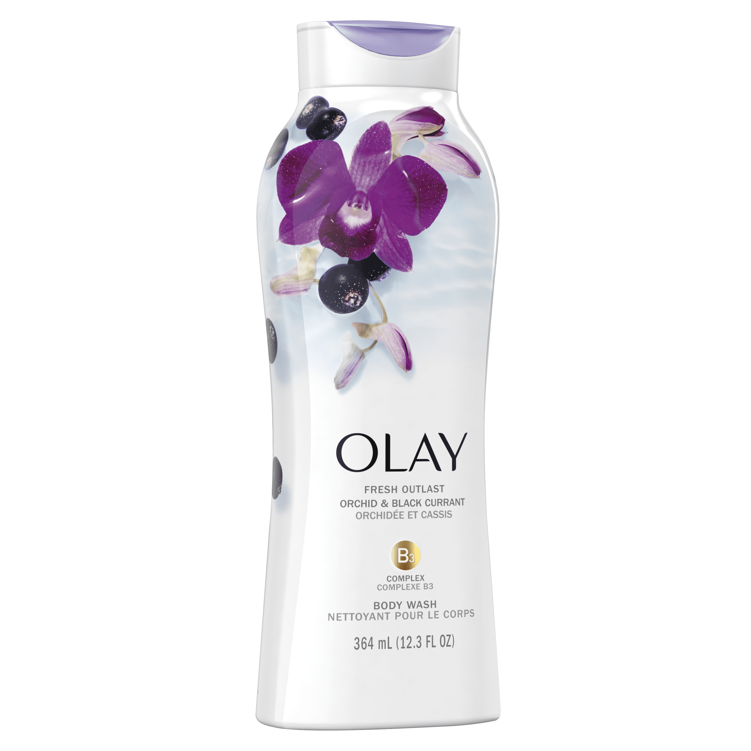 Orchid and Black Currant Fresh Outlast Body Wash_2