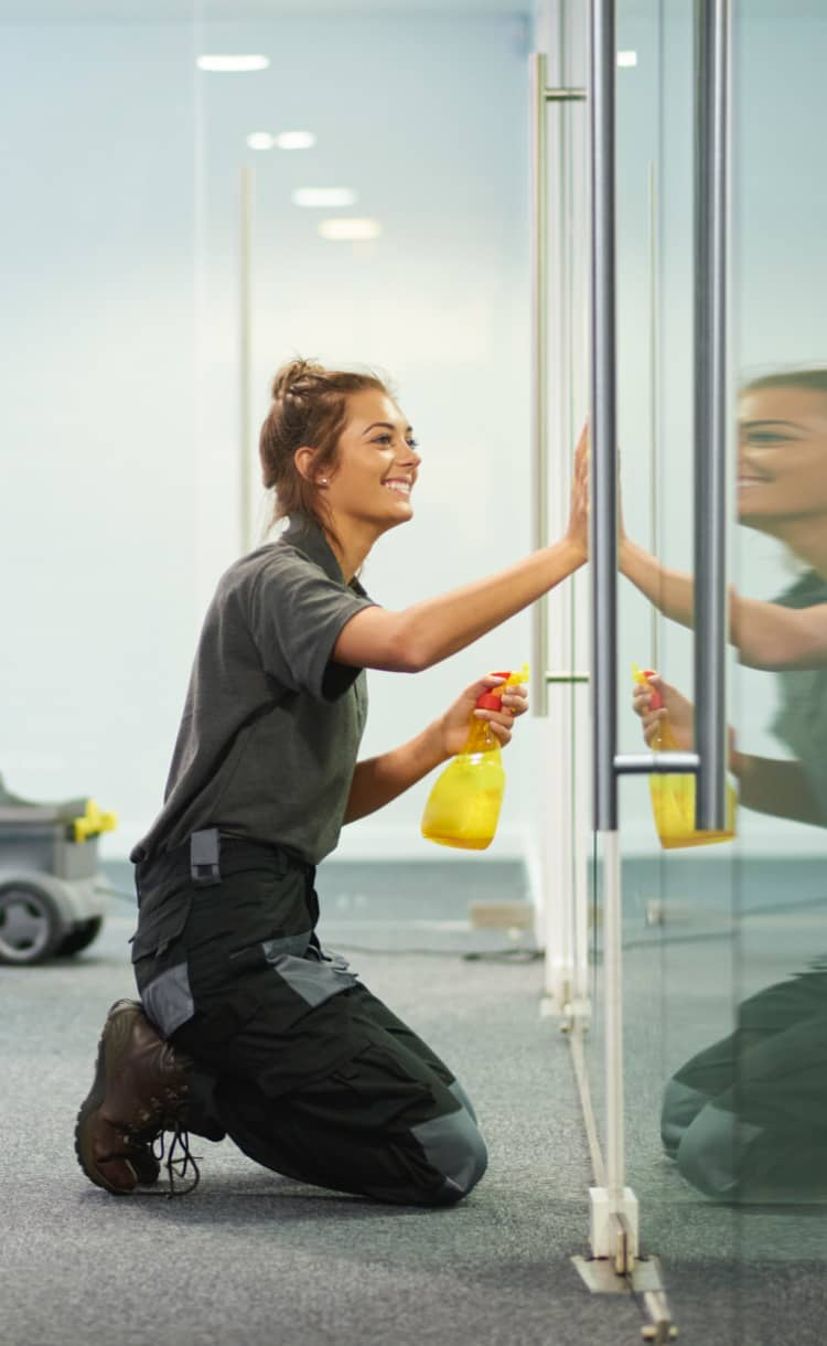 Janitorial cleaning solutions