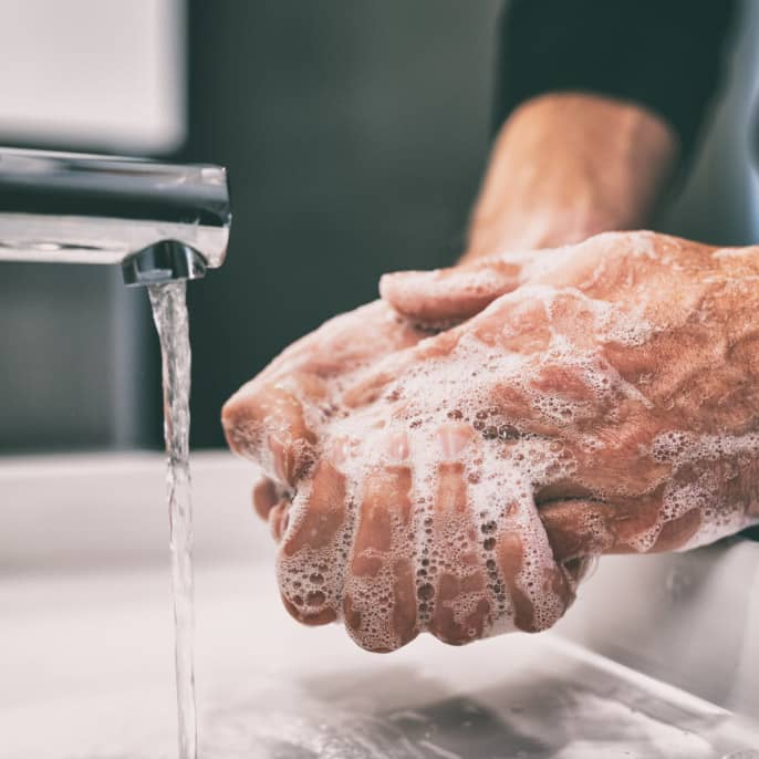Proper way to wash your hands for full protection