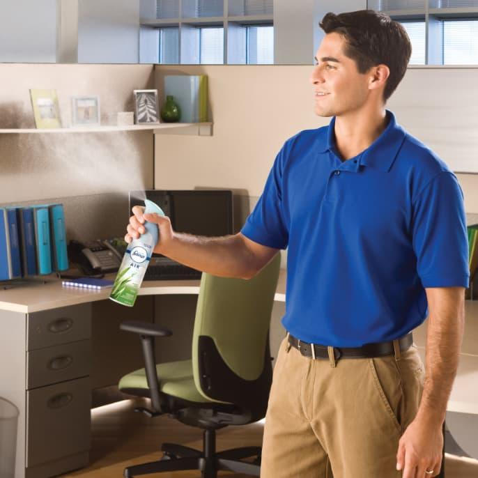 odors out, freshness in