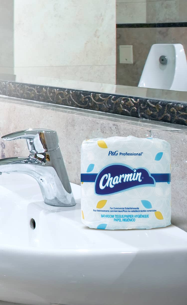 Use up to 4 time less with Charmin