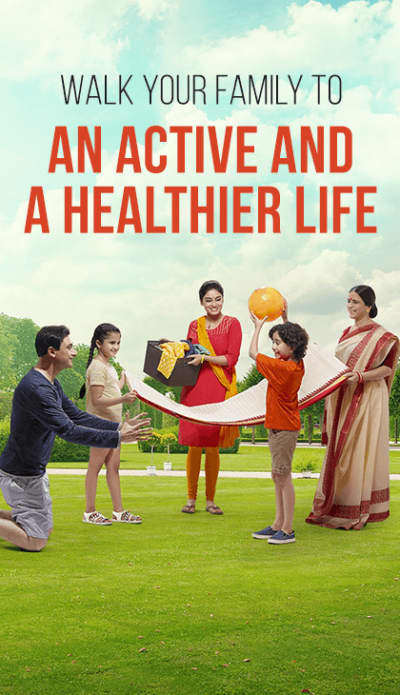 walk your family to an active and healthier life