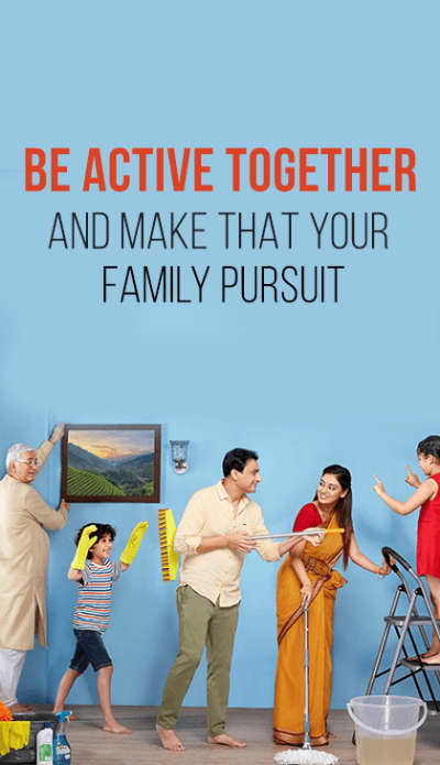 be active together make that your family pursuit