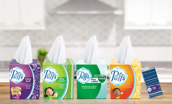 Puffs Military Care Packages