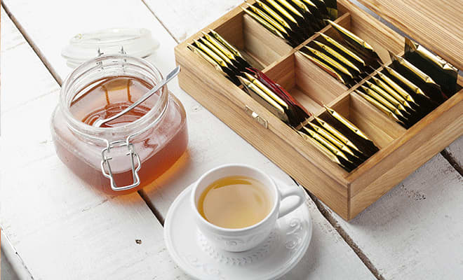 Earl Grey flavored teas to send in a care package