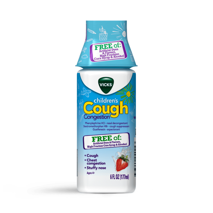 Vicks Children's Non-Drowsy Cough Relief for 4Years+